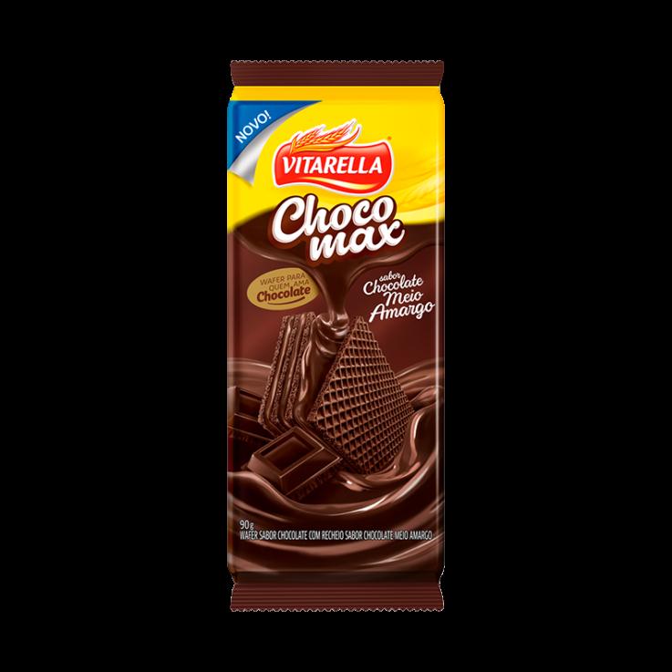 Wafer Chocomax Chocolate Amargo