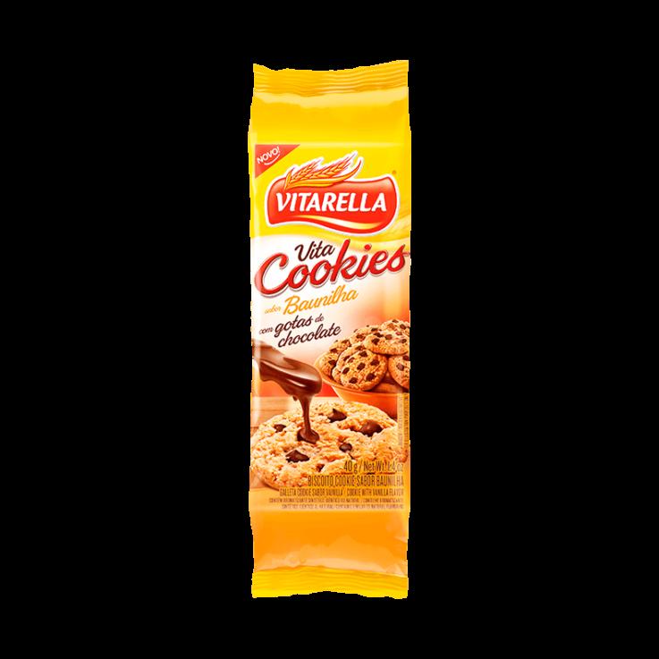 Cookie Baunilha com Gotas de Chocolate