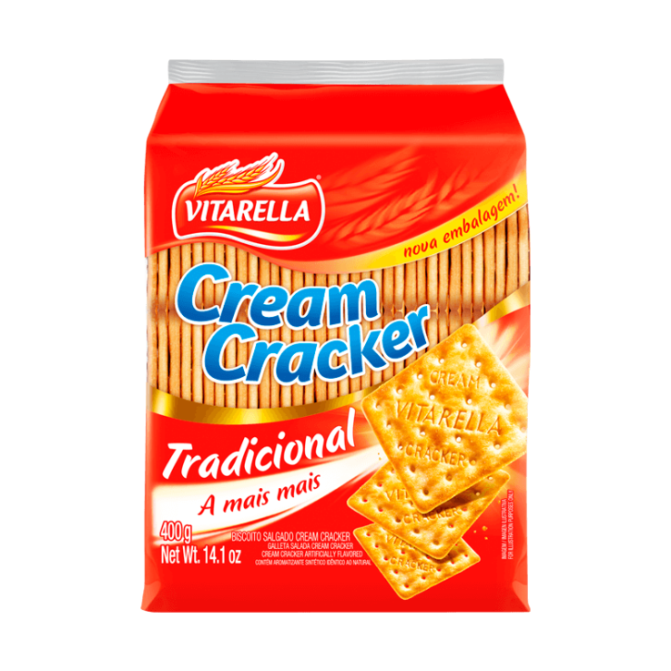 Cream Cracker Tradicional