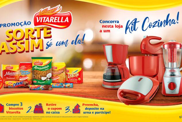 VITARELLA - SORTE ASSIM SÓ COM ELA