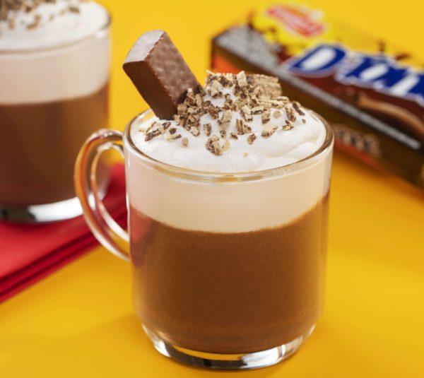 Chocolate quente com D-tone
