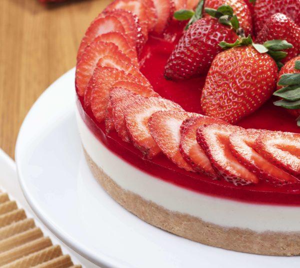 Cheesecake de morango
