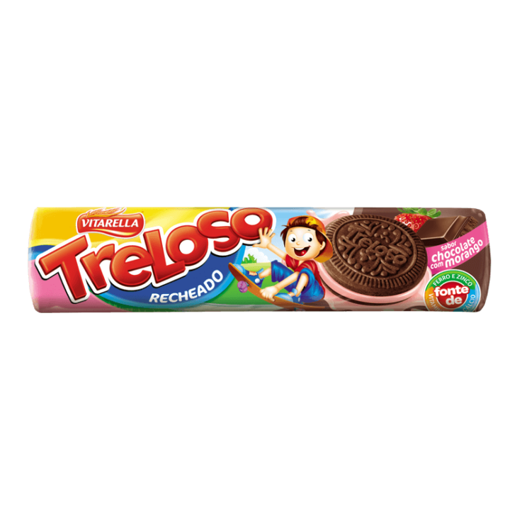 Recheado Chocolate com morango