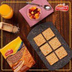 A linha Cream Cracker Vitarella tem uma novidade completamente irresistível para você....
