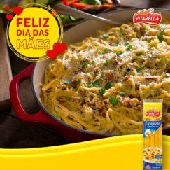 Já sabe o que preparar no almoço do dia das Mães? Trouxemos uma receita de Espaguete...