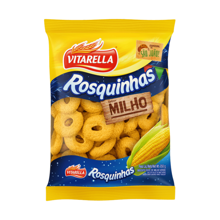 Rosquinhas Milho Verde